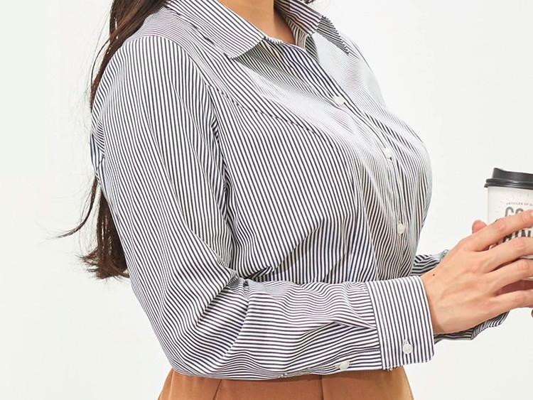 nissen【大きい胸専用】ストレッチスキッパーシャツ